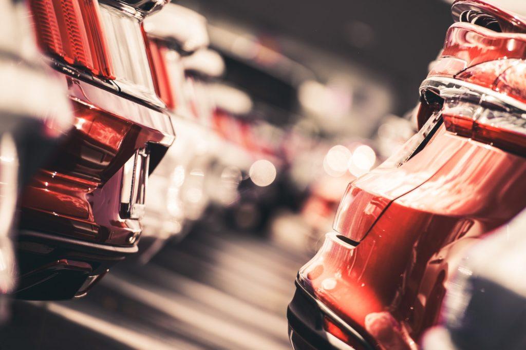 Car Dealer Vehicles Lot